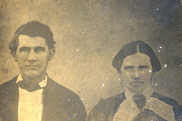 Joseph Dossett Morgan and Martha Ann Payne Morgan