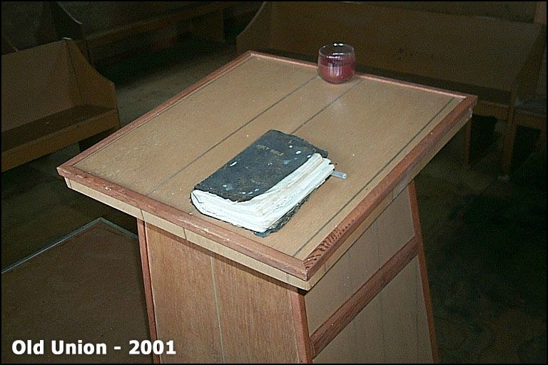 The old pulpit Bible - later rebound