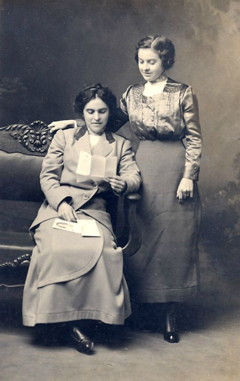 Sallie Bessie Wallace McBride and Sister